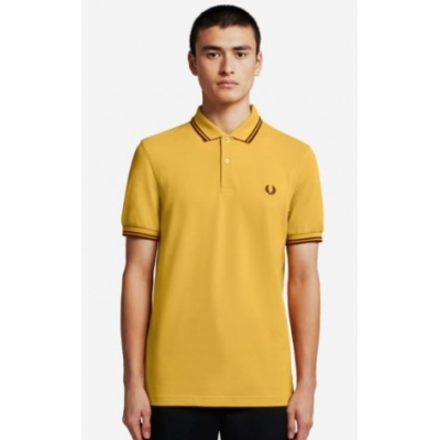 The Fred Perry Shirt Gold
