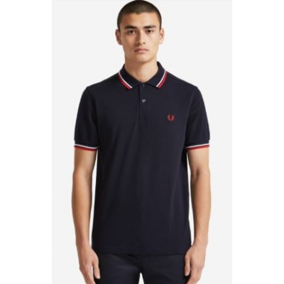 The Fred Perry Shirt Navy