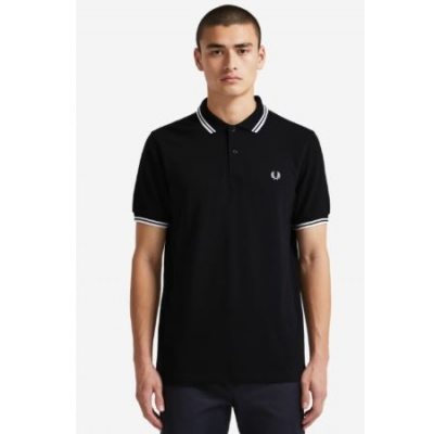 The Fred Perry Shirt Navy/White