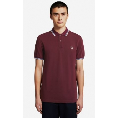 The Fred Perry Shirt Mahogony