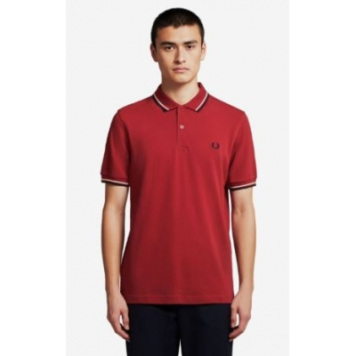 The Fred Perry Shirt Red