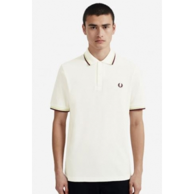 The Fred Perry Shirt White