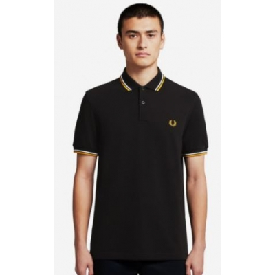 The Fred Perry Shirt Black