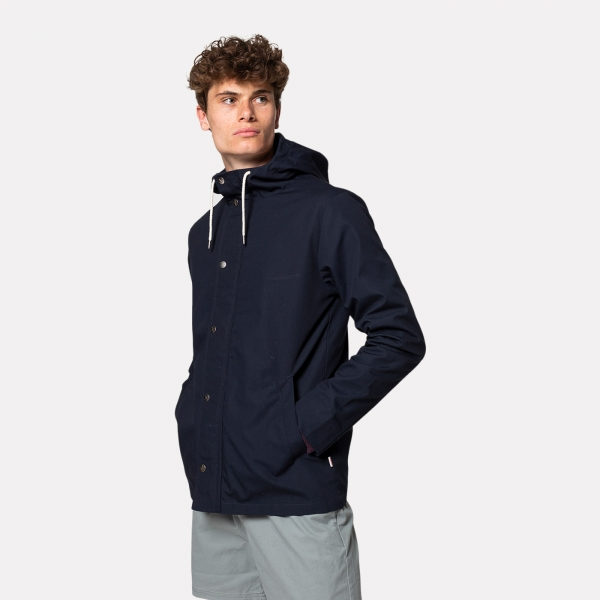 Revolution Hooded Jacket Navy