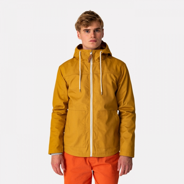 Revolution Hooded Jacket Yellow