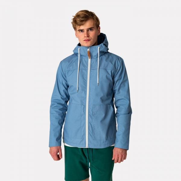 Revolution Hooded Jacket Blue