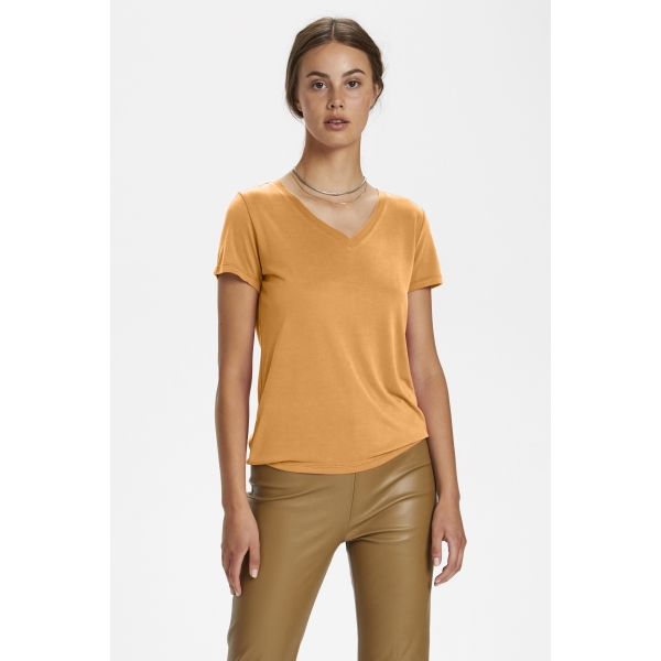 soaked in luxury V-neck shirt Golden Nugget