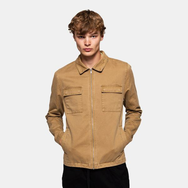 REVOLUTION Shirt Jacket Khaki